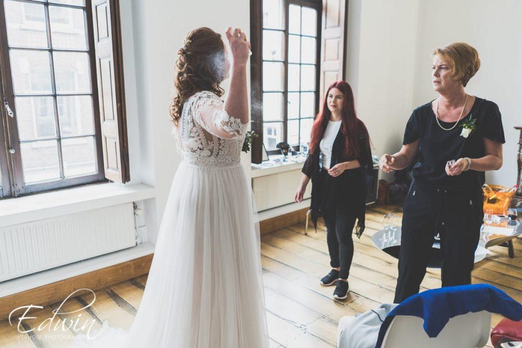 Bruidsvisagie | Wedding: Nicole & Kai | Location: Thiessen Wijnkoopers